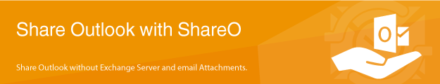 Share Outlook with ShareO