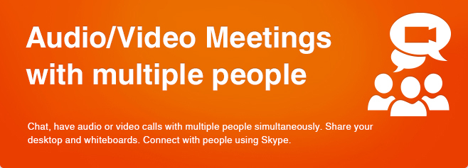 Audio/Video Meetings with multiple people